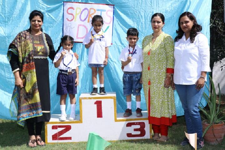 British Olivia School-Sports day winners