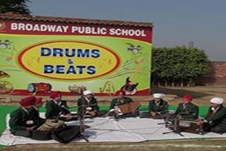 Broadway Public School-Music Competition