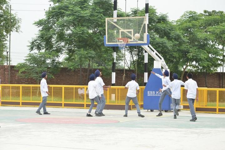 Budha Dal Public School-Basket Ball Court