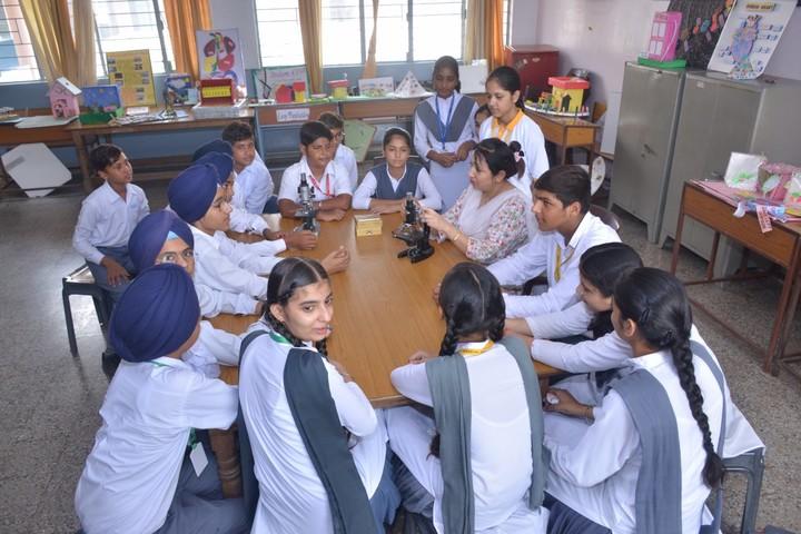 Budha Dal Public School-Biology Lab