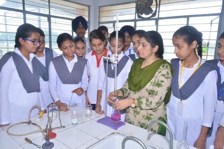 Budha Dal Public School-Chemistry Lab
