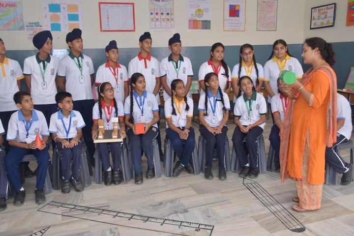 Budha Dal Public School-Maths Lab