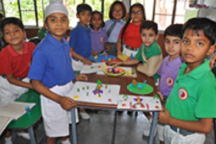 C F C Public School-Classroom Activity