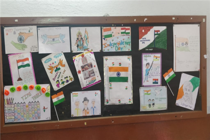 C F C Public School-Display Board