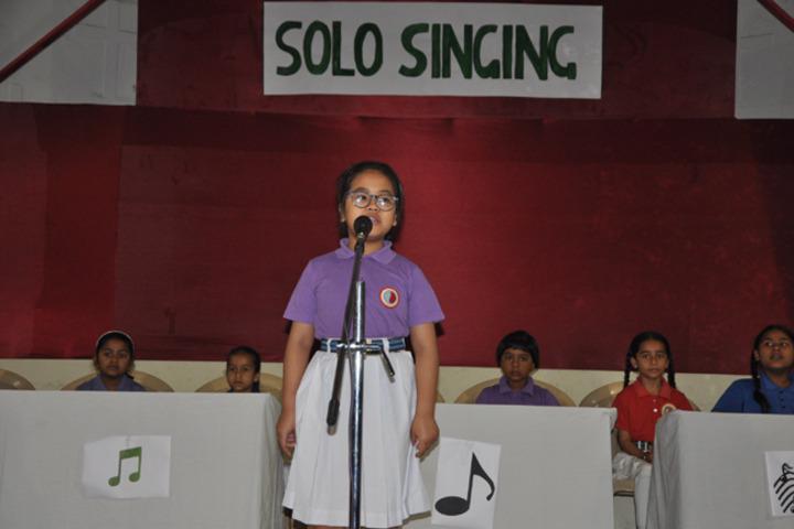 C F C Public School-Solo Singing Competition