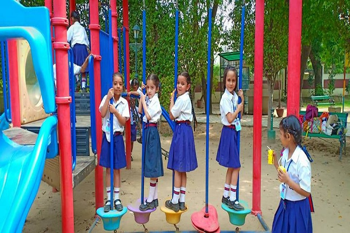 C J S Public School-Kids Play Area