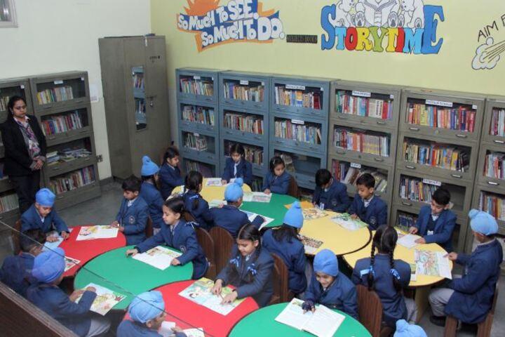 C T Public School-Library