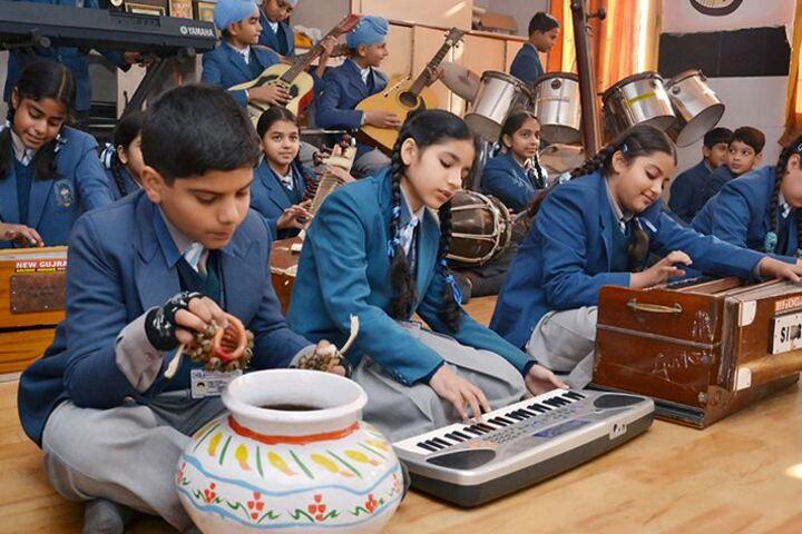 C T Public School-Music