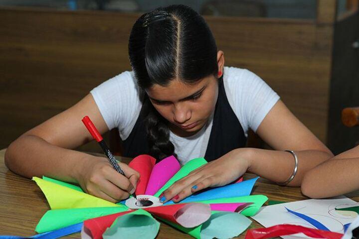 C T Public School-Paper Craft