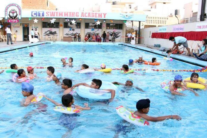 C T Public School-Swimming Pool