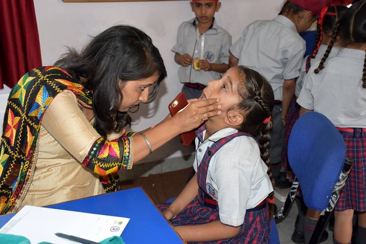 Cambridge Global School-Free Medical Camp