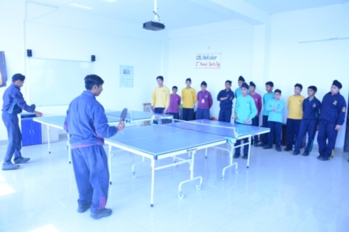 Cambridge International School-Indoor Games