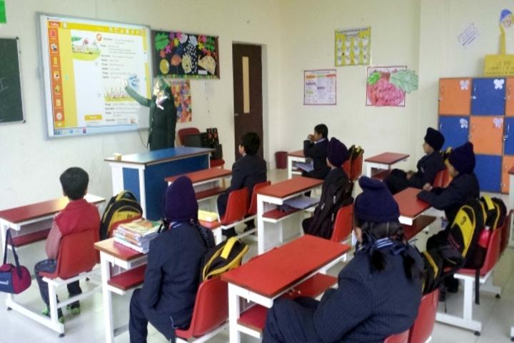 Cambridge Overseas School-Classroom