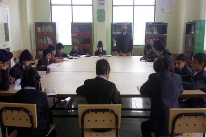Cambridge Overseas School-Library