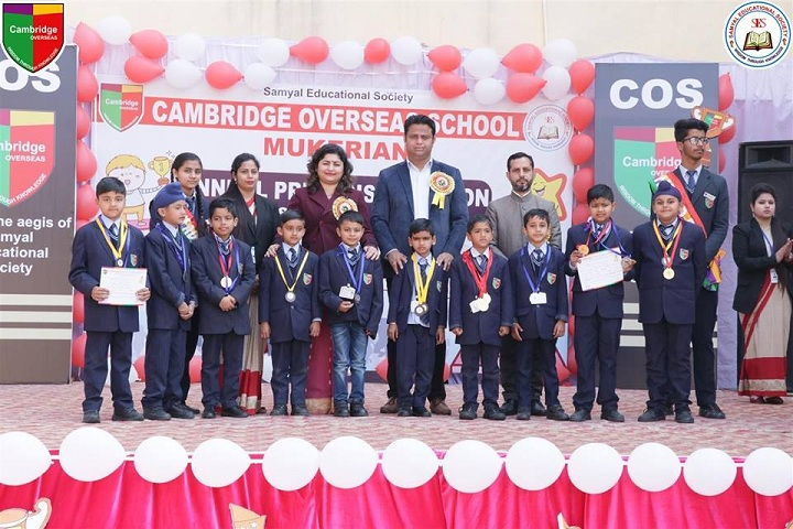 Cambridge Overseas School-Annual Prize Distribution