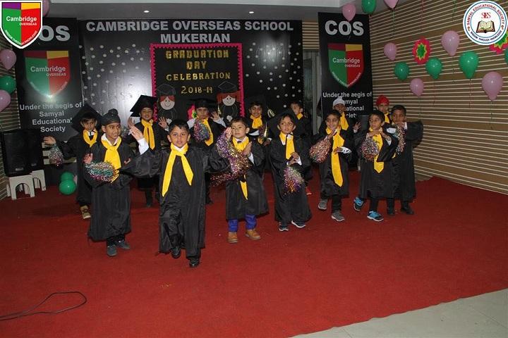 Cambridge Overseas School-Graduation Ceremony