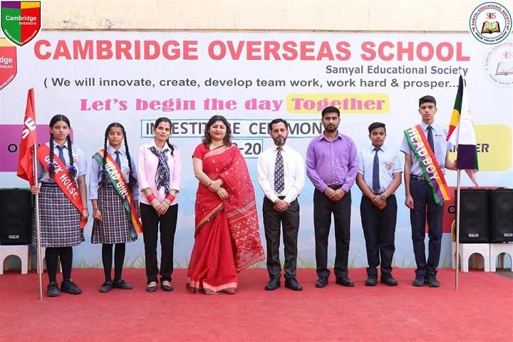 Cambridge Overseas School-Investiture Cermony