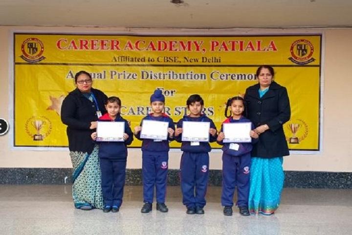 Career Academy School- Prize Distribution