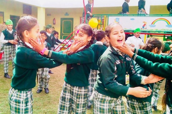 Carol Convent School-Holi Celebrations