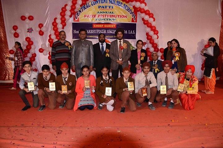 Central Convent School-Annual Prize Distribution