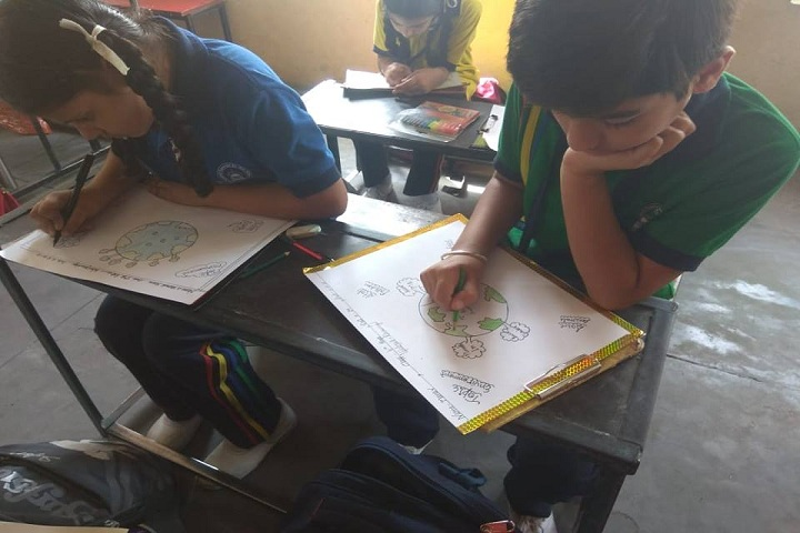 Central Convent School-Drawing  Competition
