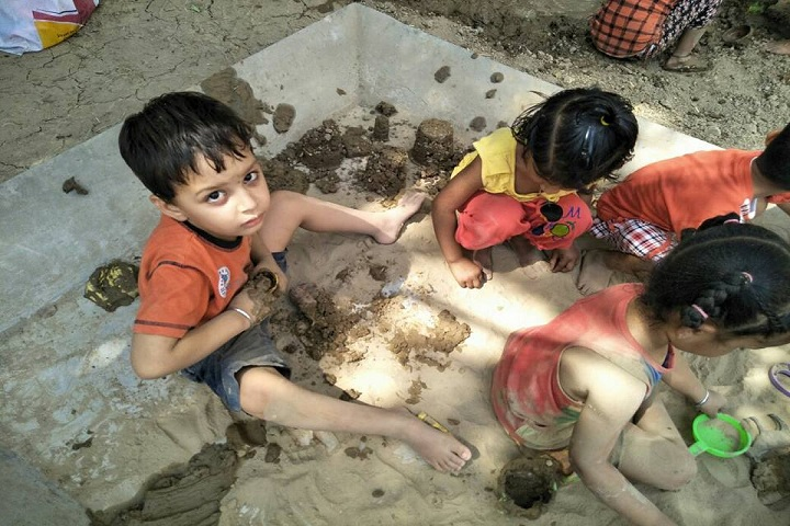 Ch Raghubir Singh Memorial Convent School-Sand Play Activity