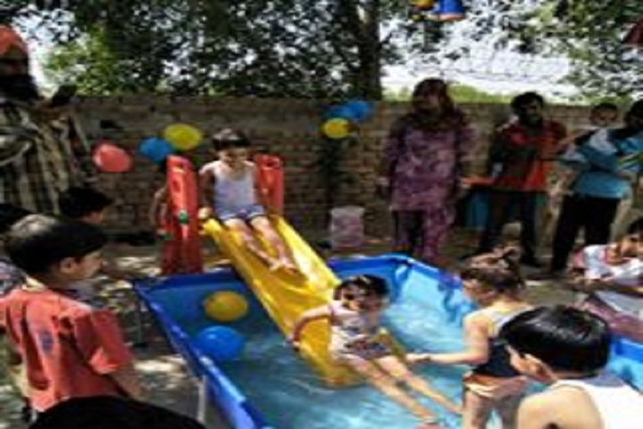 Ch Raghubir Singh Memorial Convent School-Splash Pool