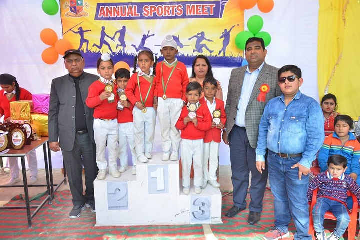 Chanakya School-Annual Sports Meet winners