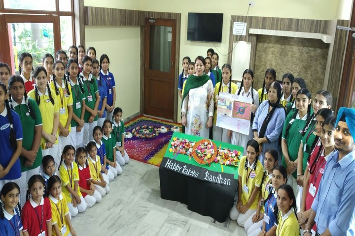 Chanakaya International School-Raksha Bandhan