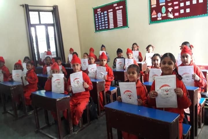 Cheema Public School-Classroom Activity