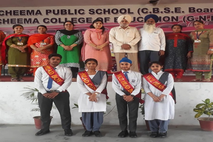 Cheema Public School-Investiture Ceremony
