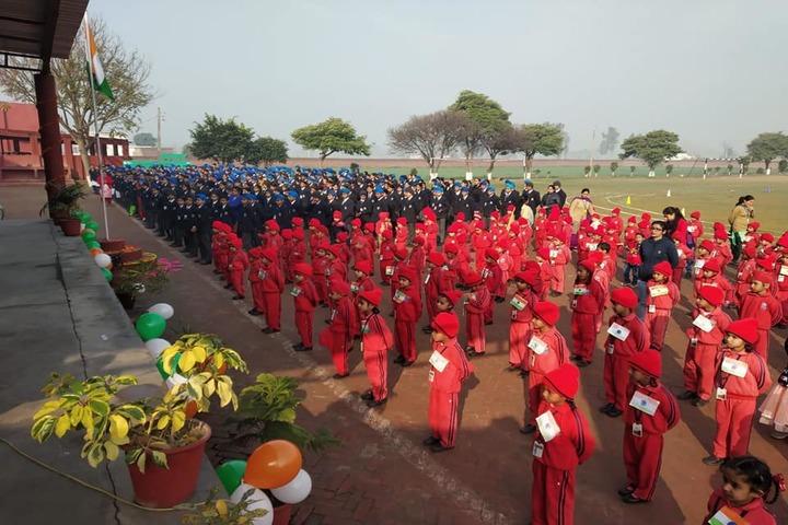 Cheema Public School-Morning Assembly