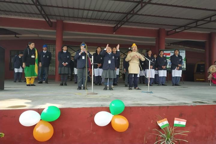 Cheema Public School-Music Activity
