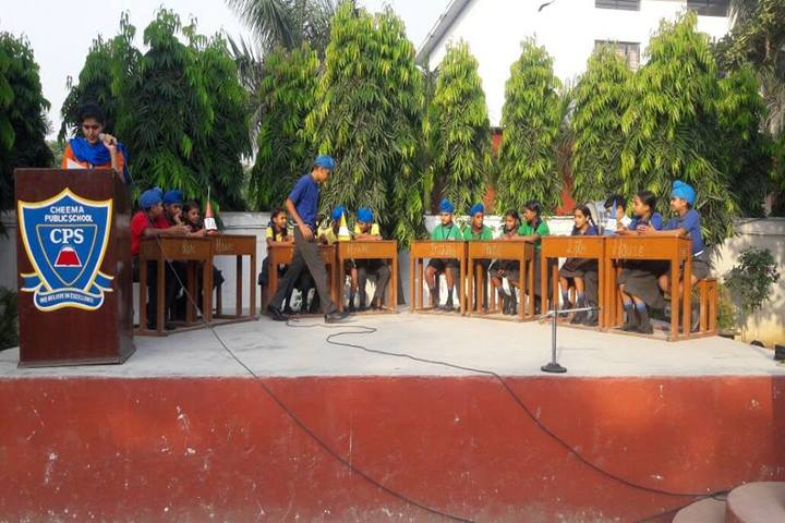 Cheema Public School-Quiz Competition