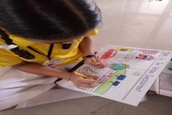 City Heart School-Drawing