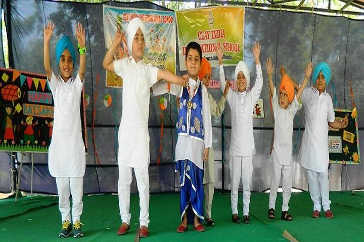 Clay India International School-Basakhi Celebrations