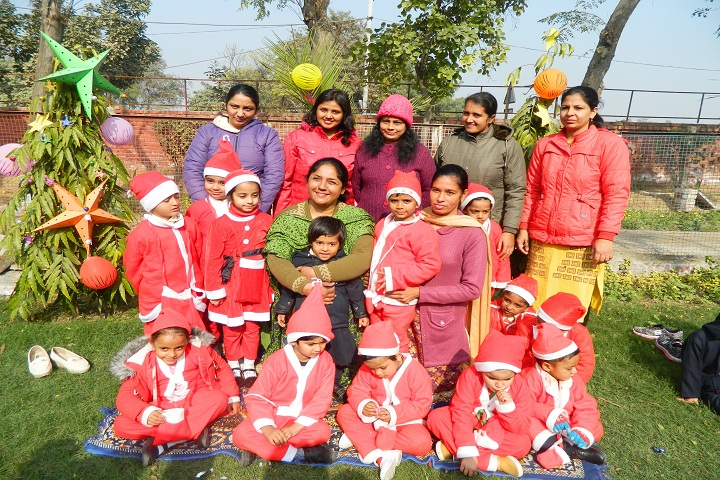 Clay India International School-Christmas Celebrations