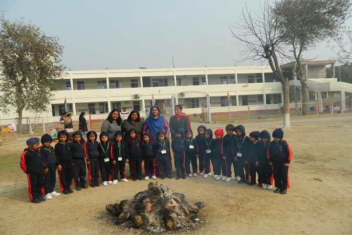 Clay India International School-Lohri Celebrations