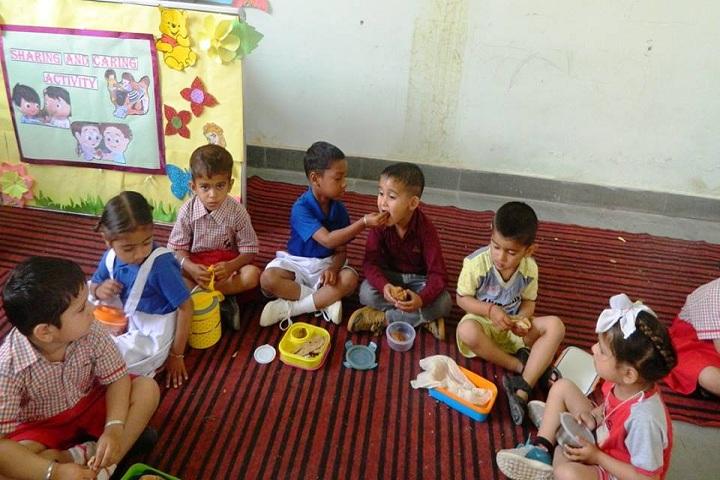Clay India International School-Sharing and Caring Activity