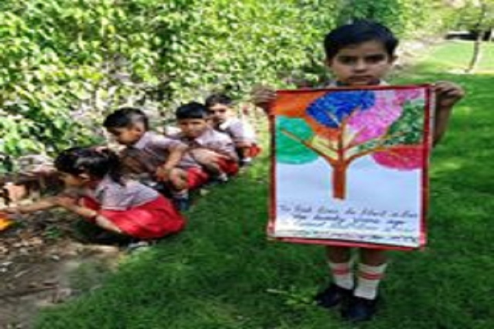Clay India International School-World Earth Day