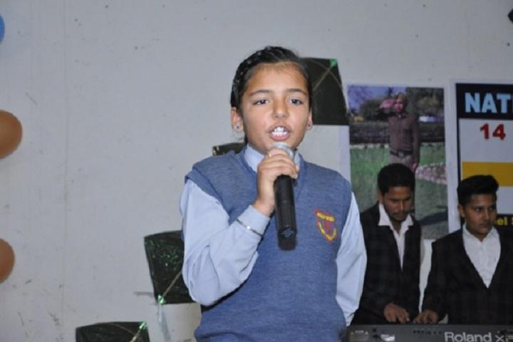 Colonel Public School-Singing Competition