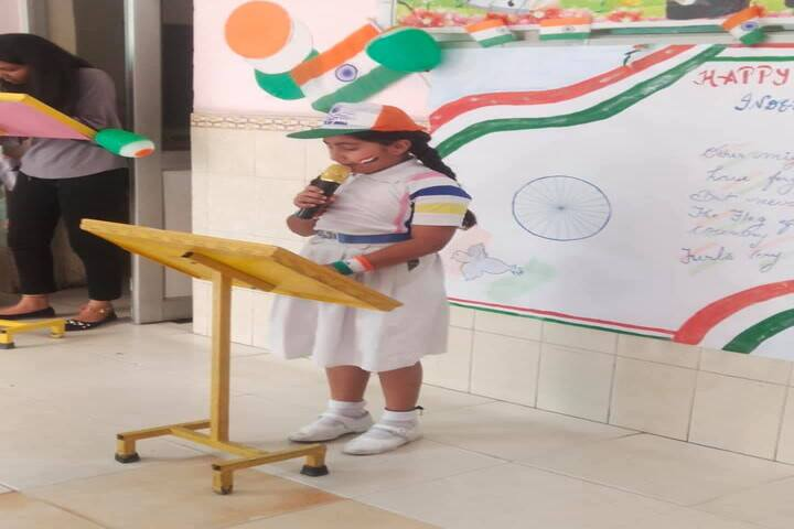 Comfy International Convent School-Independence Day Celebrations