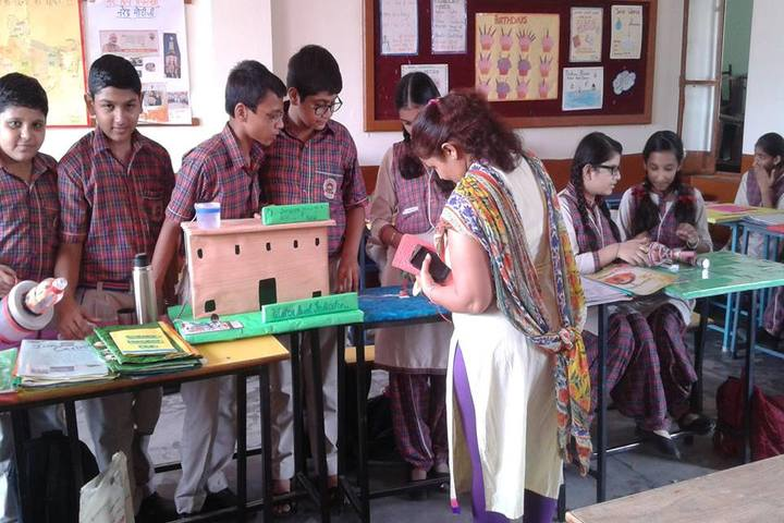 DAV Centenary Public School-Exhibition