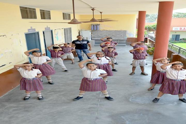 DAV Centenary Public School-Karate