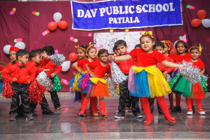 D A V Public School-Annual Day