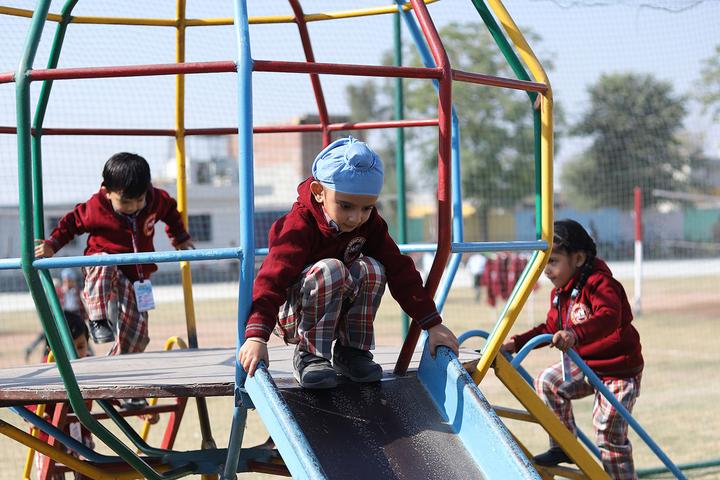 D C Model International School-Play Area