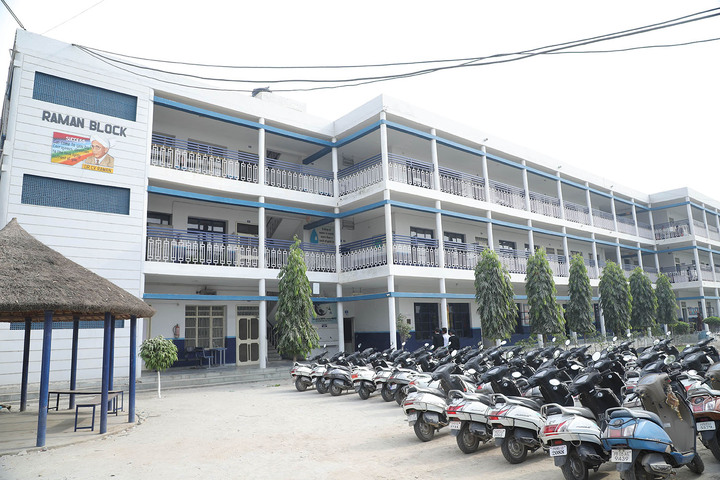 D C Model International School-School Building