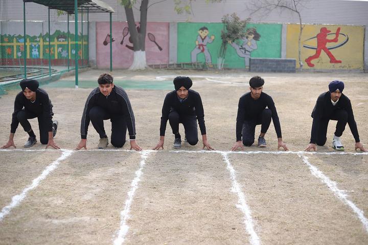 D C Model International School-Sports