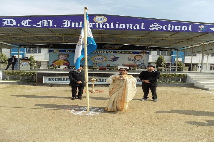D C Model International School-Independence Day