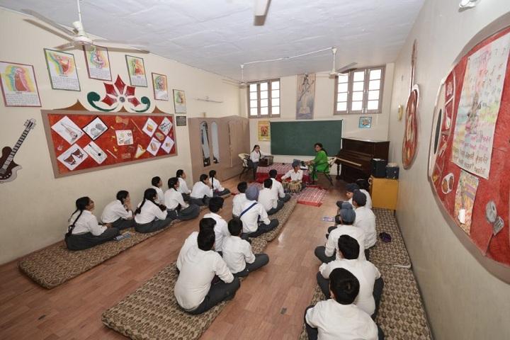 DN Model Senior Secondary School-Meditation